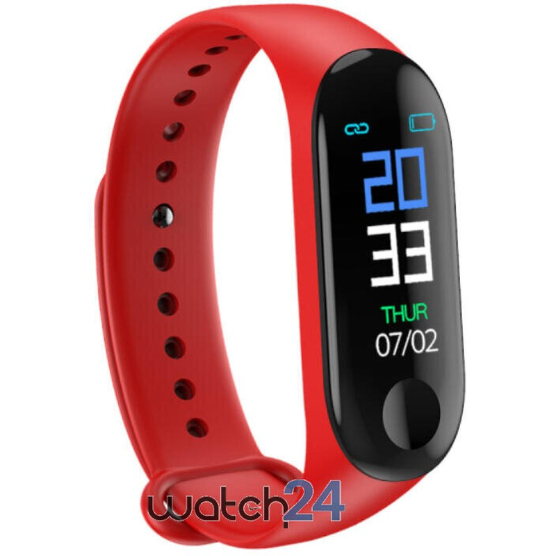 Bratara fitness Generic cu bluetooth, monitorizare ritm cardiac, notificari, functii fitness S124
